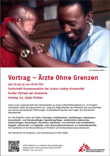Plakat Uni Giessen